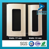 Europa rolo Popular Shutter Dobre Porta / janela Perfil de alumínio com pó revestido Branco