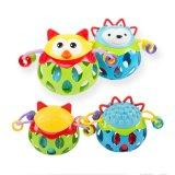 O bebê chocalha a esfera macia do PVC dos brinquedos do bebê (H0001265)