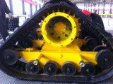 Große Gummispur für Erntemaschine