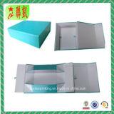 Rectángulo de papel rígido de empaquetado plegable de papel con Custome impreso