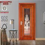 Une porte en bois en verre de modèle simple de panneau (GSP3-014)
