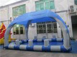 Piscina gonfiabile del vinile con la tenda sulle vendite