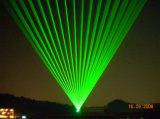 Лазерный луч системы выставки лазера наивысшей мощности 8W-50W зеленый