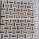 Modern Hexagon Marble Stone Mosaic Tile for Swimming Pool, Bathroom