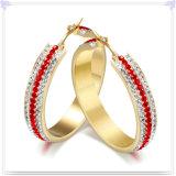 De Oorringen van de Juwelen van het Roestvrij staal van de Toebehoren van de manier (EE0098)