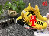 Assegurar a original Nmd de 100% a raça humana, sapatas Running do impulso real de Nmd da raça humana do amarelo, Nmd para mulheres do homem, tamanho 36-48, sapatas dos esportes, carregadores do funcionamento