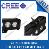 "新しい23 "" Single Rowのクリー語LED Driving Light Bar、120W LED Work Lamp、Truck Work Light Bar、Offroad Bar Light LED、Waterproof Lighting Bar 12V/24V"