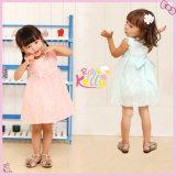 Roupa da menina, vestido bonito floral do bebê, vestidos dos bebés