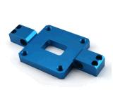 Pièces de usinage personnalisées de précision en aluminium de commande numérique par ordinateur