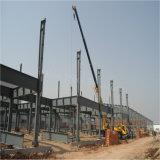 Edificio prefabricado de la fábrica del acero estructural para la planta de goma