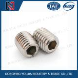 Tornillos de presión del socket del hexágono del acero inoxidable Asmeb18.3 con la punta de la taza