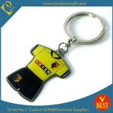 Zoll-einbrennende Förderung Metall gedrucktes Keychain (KD-0711)
