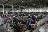 Китайский используемый тип Кореи тяжелое дыхание хлопка повелительниц способа в экспорте Bales к Африке
