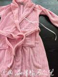 Peignoir d'hôtel de peignoir de Terry de sous-vêtements en coton