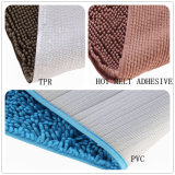 Tufted Tapijt van de Badmat van de lang-Stapel van de Polyester van Chenille Microfiber (80R)