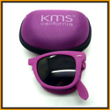 FG1509 China Manufacture UV Protection Folding Beach Sunglass with Case