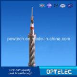 Todo Dieléctrica Autoportante Cable de Fibra Óptica ADSS