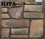 Preços de pedra dos painéis do falso de imitação de Caldding da parede de pedra