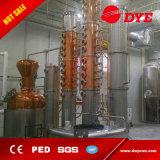 Equipo eléctrico de la destilación del cobre de la calefacción de la alta calidad 1500L