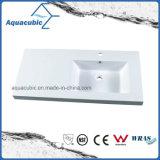 Тазик Polymarble высокого качества белого цвета популярный