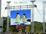 Outdoor Eccellente-Light ultrasottile Advertizing LED Display Sign LED Board per Rental Field