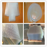 Couvre-tapis en plastique clairs clairs antidérapage promotionnels d'étage