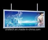 Гибкого трубопровода тонкая СИД PVC рекламировать средств здания рамки алюминия коробка щелчкового светлая