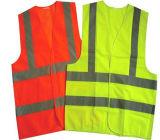 Proteção de segurança da alta qualidade que dá um ciclo a veste reflexiva da segurança do amarelo elevado da visibilidade En20471/a veste reflexão da segurança para a venda, segurança barata da alta qualidade