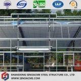 Подвижной магазин оборудования стальной структуры с плоской крышей