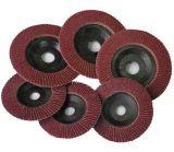 Disco flexível da aleta para a roda de moedura