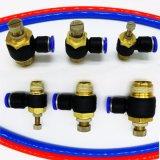 Connecteurs pneumatiques de pression pour l'application industrielle