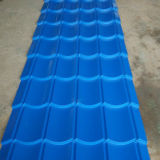Roulis glacé de feuille de toiture de tuile formant la machine pour le panneau ondulé de toit en métal