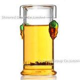 Чашка чая боросиликатного стекла чашка ясной стеклянной чашки подарка творческая