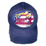 Heißer Verkauf gewaschene Baseballmütze mit vorderem Firmenzeichen Gjwd1746