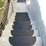 Esteras de goma recicladas al aire libre de la pisada de escalera del resbalón del patín anti no