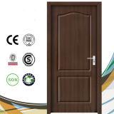 Porta de vidro de madeira interior do projeto do MDF do PVC