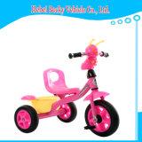 Vélo extérieur de jouet de conduite de poussée de parasol de bébé d'enfant de landau durable de tricycle
