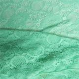 Laço africano da tela do Crochet do estiramento verde (NF1006)
