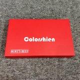 Rectángulo de regalo cosmético de la visualización del embalaje del perfume del rectángulo rojo asombroso