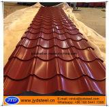 Farbe angestrichene gewölbte Dach-Fliese
