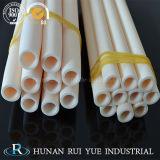 Tubo di ceramica Closed 99 dell'allumina dell'estremità C799 di elevata purezza Al2O3 99.7% della fabbrica un