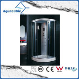 Terminar el sitio de ducha automatizado del vidrio Tempered del masaje (AS-T14)