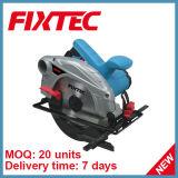 La machine de Sawing de Fixtec de Powertools 1300W 185mm circulaire a vu qu'en bois a vu (FCS18501)