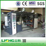 4 colore Flexo Printing Machine con Oil Ink