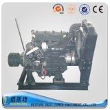 Двигатель дизеля фабрики R4105p Китая неподвижный с муфтой и шкивом
