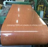 Le film en bois neuf de PVC de décoration des graines a peint des bobines de l'acier PPGI