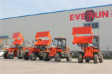 Rops&Fops Cabin를 가진 Everun 세륨 Shovel Loader Er12