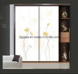 Vidro da arte de Jinhuajing, vidro decorativo, vidro da porta do Wardrobe para a HOME