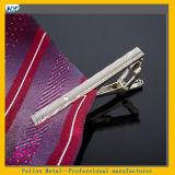 형식 고품질 합금 당 간단한 넥타이 동점 클립 가늘고 긴 브로치 실제적인 공백 은 금속 클립 나비 넥타이