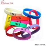 Bracelete colorido do silicone do clube da venda quente para o presente (LM1627)